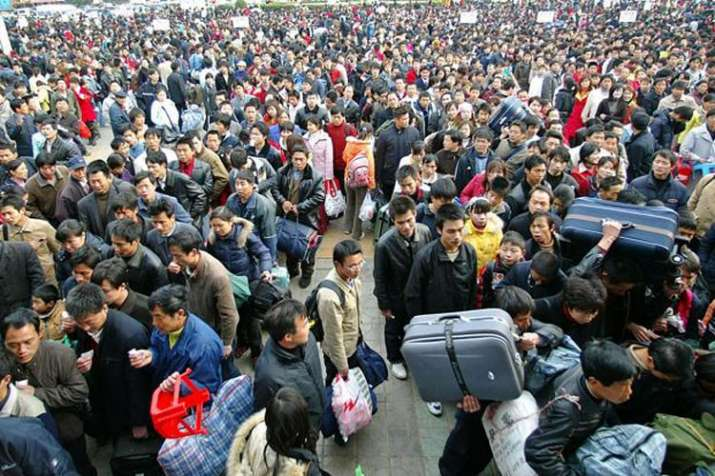 Beijing sees population fall for first time in 20 years   AP- India TV