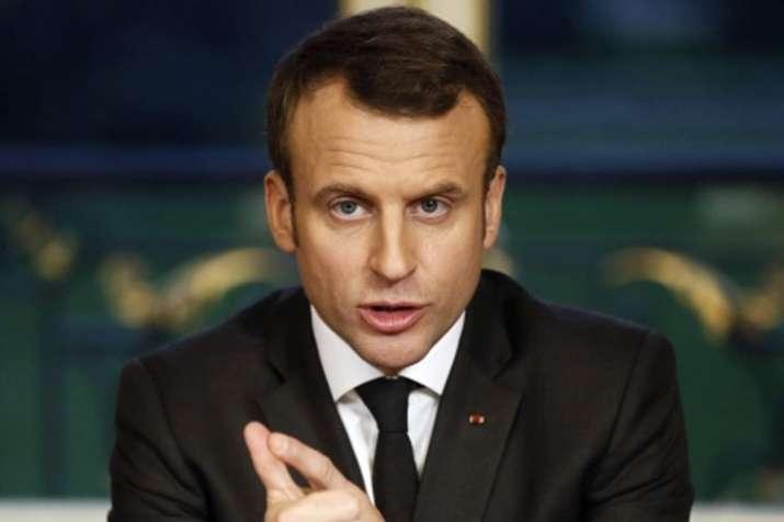 Emmanuel Macron's popularity falls to 25 percent: poll | AP File- India TV Hindi