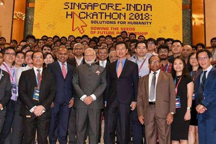 भारत-सिंगापुर हैकाथन से प्रौद्योगिकी, युवा शक्ति को मिलेगा बढ़ावा: पीएम मोदी- India TV Hindi