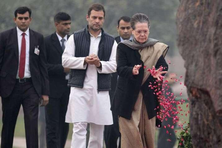 Rahul Gandhi and Sonia Gandhi pays tribute to Indira Gandhi on death anniversary, visits Shakti Stha- India TV Hindi