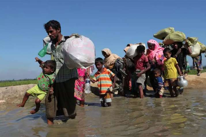 Rohingya refugee flees camps to avoid return to Myanmar - India TV Hindi