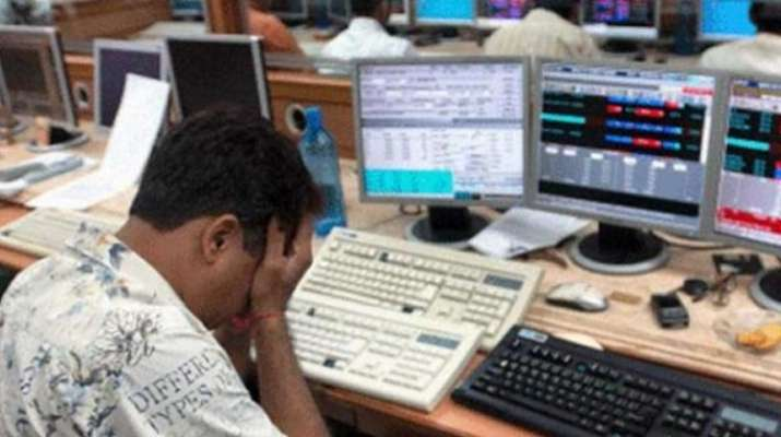 Sensex falls 572 points on Thursday as exit poll results to come out on Friday- India TV Paisa