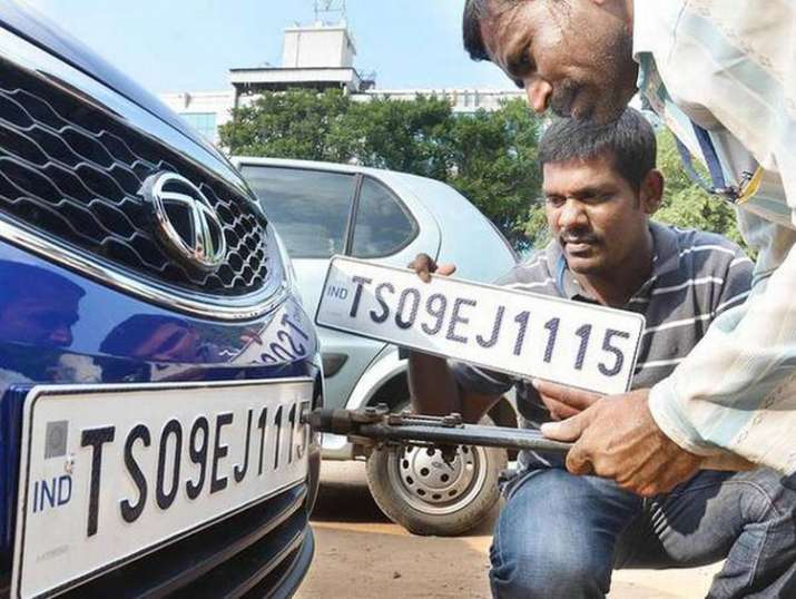 high security number plate- India TV Paisa