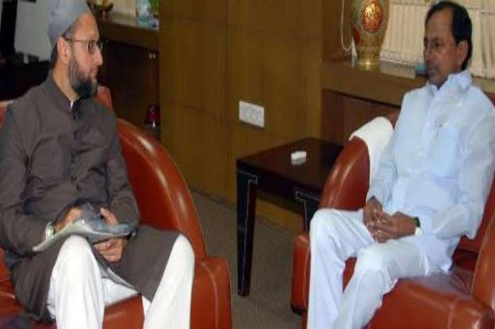KCR Owaisi meeting live updates- India TV Hindi