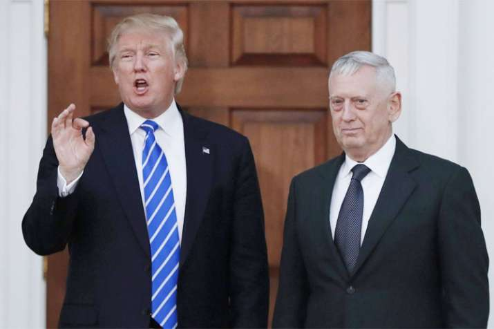 US Defence Secretary James Mattis resigns over differences with Donald Trump | AP File- India TV Hindi
