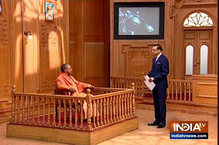 Yogi Adityanath In Aap ki adalat- India TV Hindi