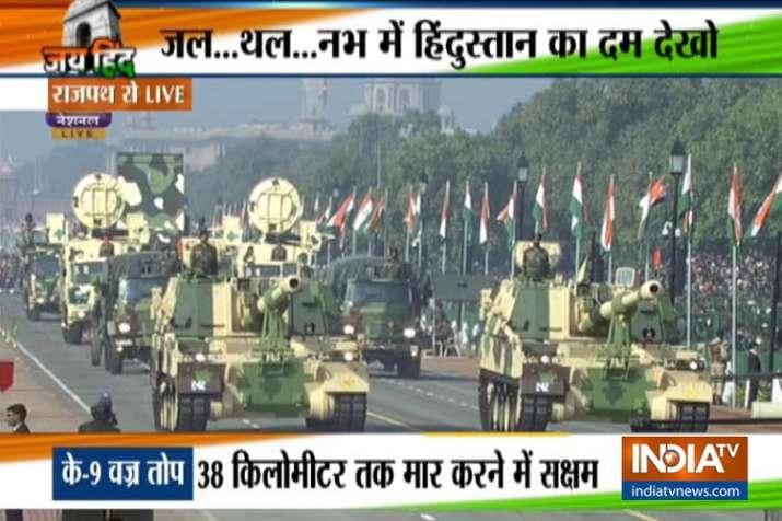 Republic Day 2019: 70वें गणतंत्र दिवस पर दिखा भारत का पराक्रम, कई नए हथियारों का प्रदर्शन- India TV