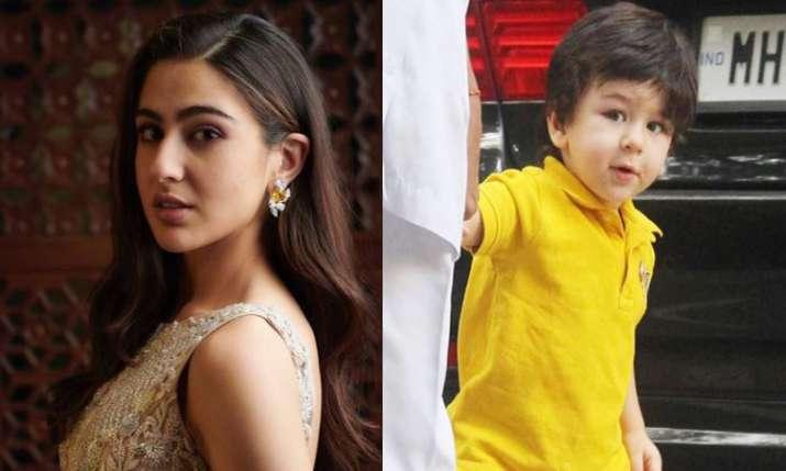 सारा अली खान और तैमूर...- India TV