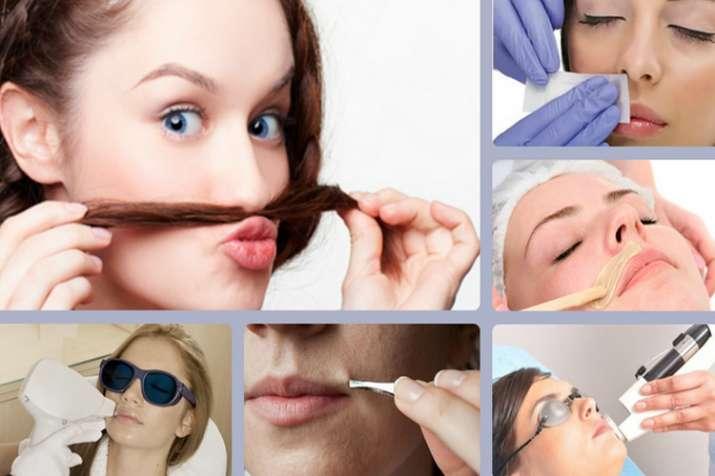 get rid of facial hair- India TV