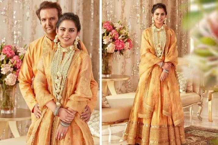 Isha Ambani and Anand Piramal wedding isha ambani wedding pics- India TV