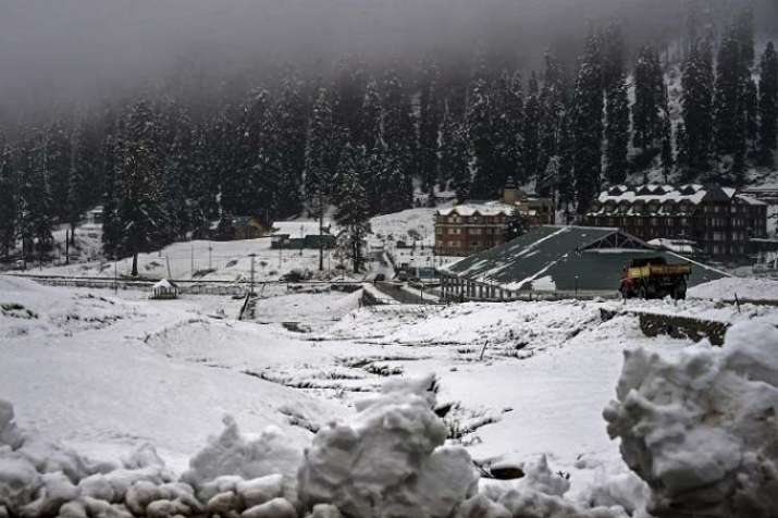 Kashmir Snowfall file picture- India TV