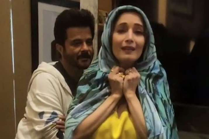 Madhuri Dixit Anil Kapoor celebrate 30 years of Ram Lakhan - India TV Hindi