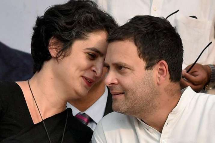 Priyanka Gandhi Vadra and Rahul Gandhi   PTI File Photo- India TV
