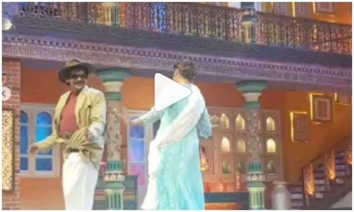 Sunil Grover and sapna choudhary- India TV