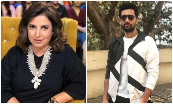 Farah khan and Vicky kaushal- India TV Hindi
