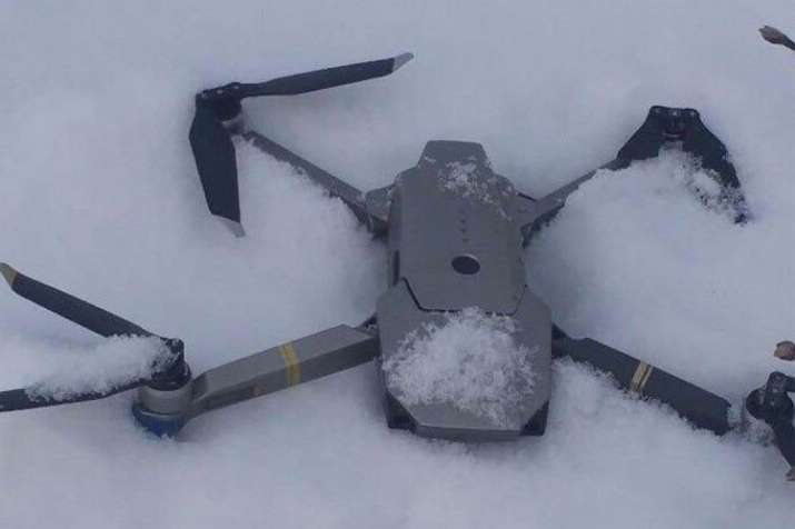 Shot down Indian spy drone, claims Pakistan | ISPR Photo- India TV