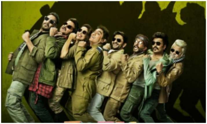 first poster of total dhamaal- India TV