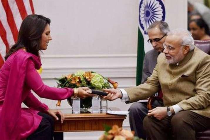 I have been accused of being a Hindu nationalist, says US presidential aspirant Tulsi Gabbard- India TV Hindi