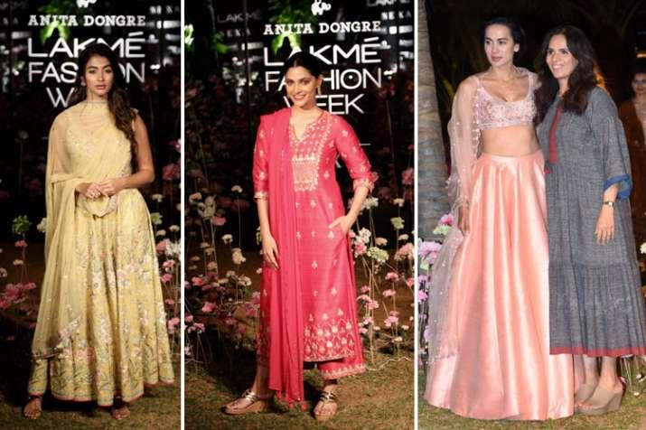 lakme fashion week 2019 anita dongre- India TV
