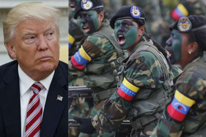 Donald Trump urges Venezuelan military to desert 'Cuban puppet' Maduro | AP File- India TV