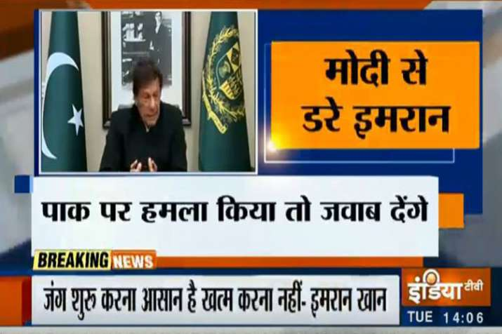 Main points of Imran Khan Speech on Pulwama Attack - India TV
