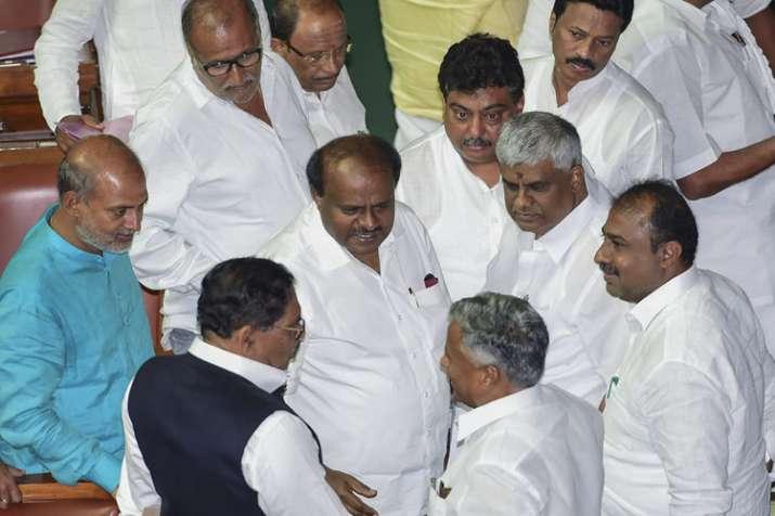 Karnataka Chief Minister H D Kumaraswamy- India TV
