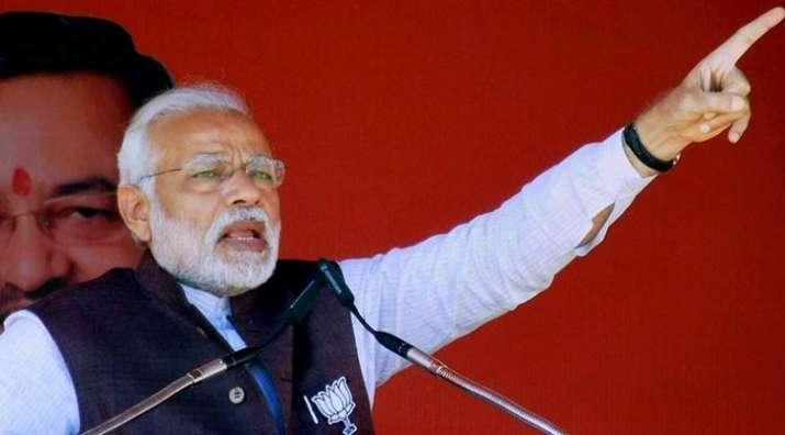 PM Modi cut shorts his speech in Kolkata Rally- India TV