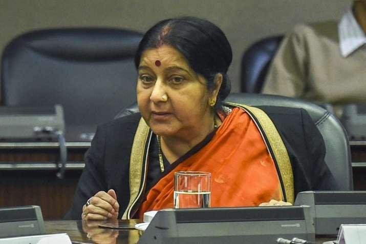 Sushma Swaraj speaks to counterparts in US, China,...- India TV Hindi