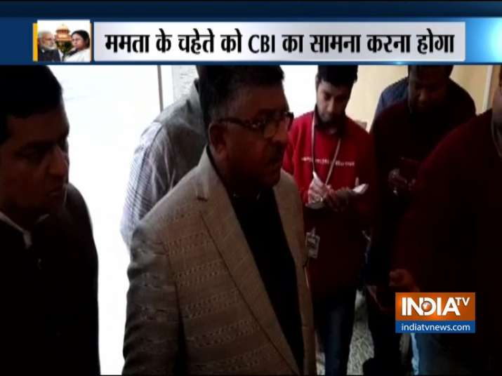 Law Minister questions Mamta Banerjee's claim of moral victory in CBI case- India TV