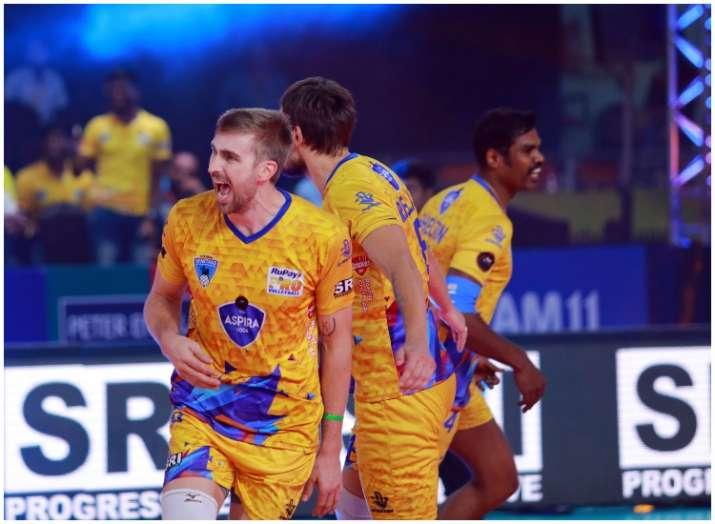 प्रो वॉलीबाल लीग:...- India TV Hindi