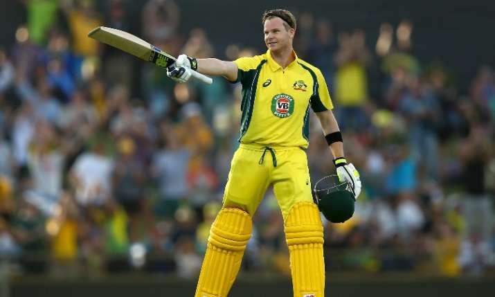 डकवर्थ लुईस से जीता ऑस्ट्रेलिया एकादश, स्टीव स्मिथ ने जड़े नाबाद 91 रन- India TV Hindi