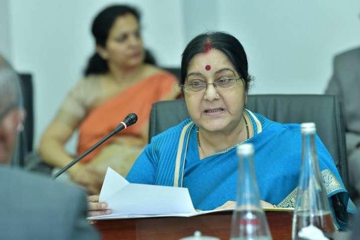 Minister of External AffairsSushma swaraj- India TV