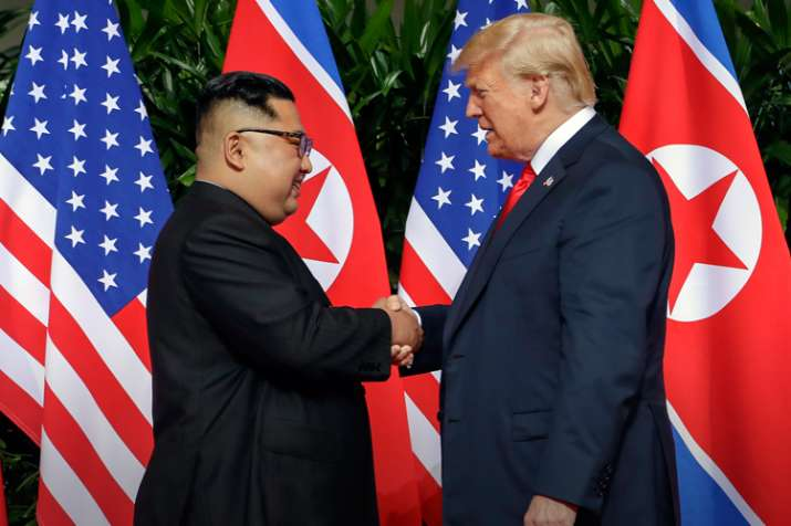 उत्तर कोरिया से संबंध बेहतर करने के लिए दक्षिण कोरिया के साथ सैन्य अभ्यास बंद करेगा अमेरिका- India TV