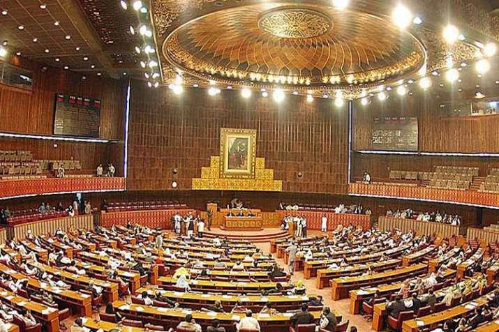 Pakistan Parliament- India TV Hindi