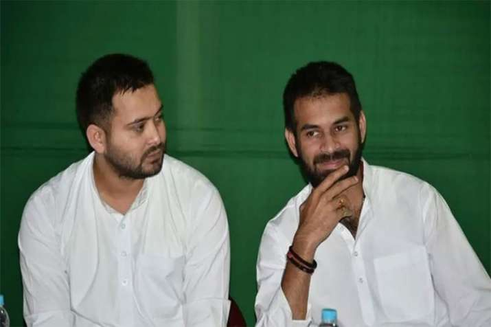 Tej Pratap resigns from RJD youth wing chief post- India TV Hindi
