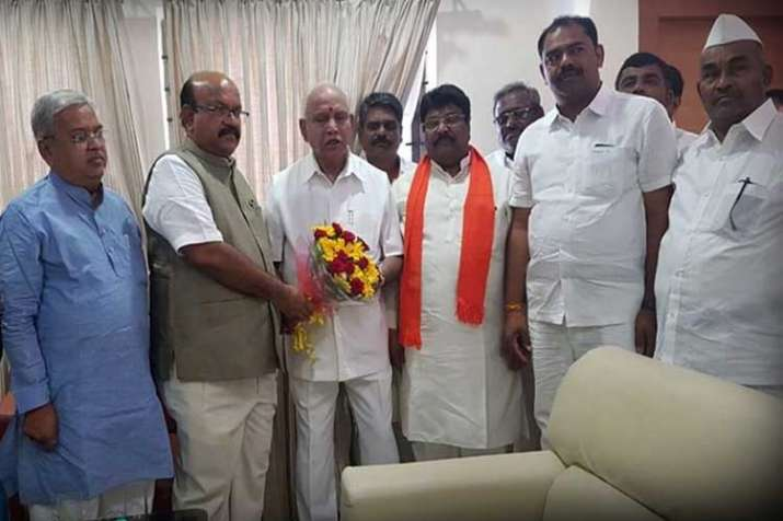 Rebel Congress MLA Jadhav joins BJP, likely to be pitted...- India TV