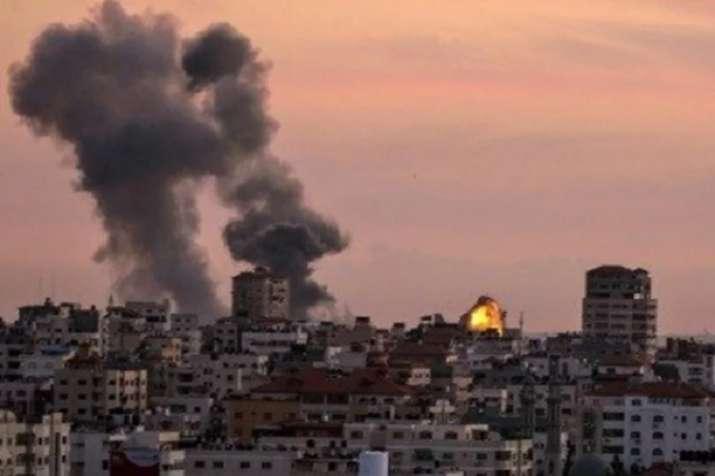 Rockets hit Israel from Gaza Strip- India TV Hindi