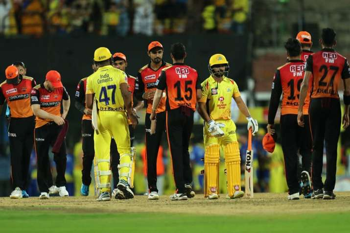 IPL 2019, CSK vs SRH: Chennai Super Kings Beat Sunrisers Hyderabad by 6 Wickets With The Help Of Sha- India TV