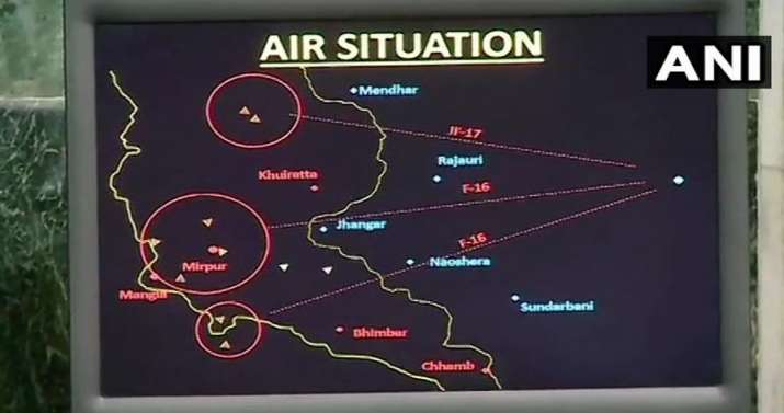 Images releases by IAF- India TV
