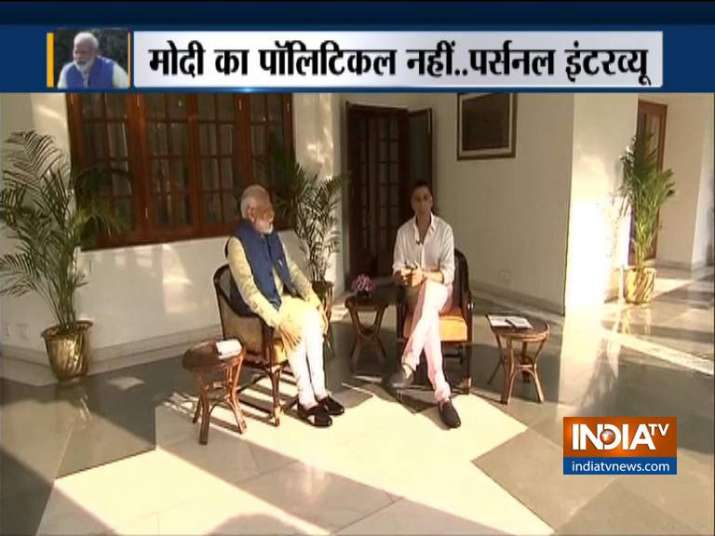 PM modi interview with Akshay kumar- India TV Hindi