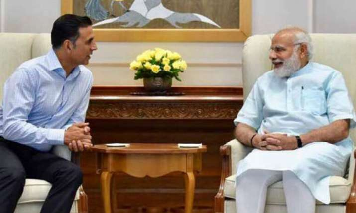 Akshay Kumar, PM Narendra Modi- India TV Hindi