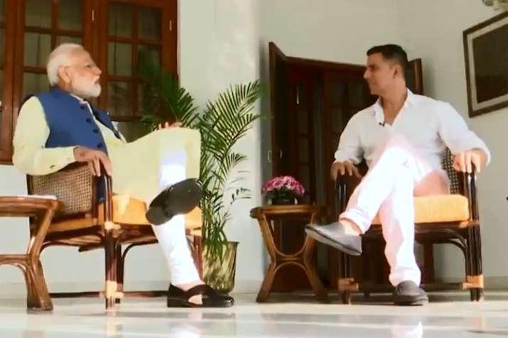 Akshay Kumar interview with PM Narendra Modi- India TV Hindi