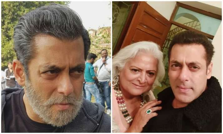 Salman khan's new look in bharat- India TV