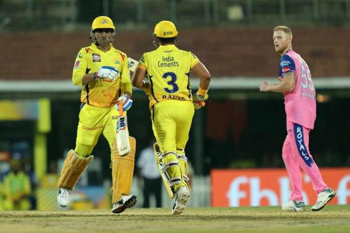 IPL 2019, MS Dhoni, Ben Stokes, Rajasthan Royals, Chennai Super Kings, CSK vs RR- India TV