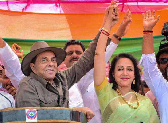 BJP Candidate from Mathura Lok Sabha seat Hema Malini...- India TV Hindi
