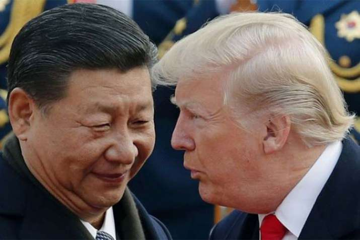 Donald Trump and XI Jinping- India TV