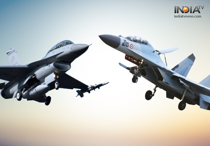Indian radars detected 4 Pakistani F-16 fighter planes flying close to Indian border- India TV