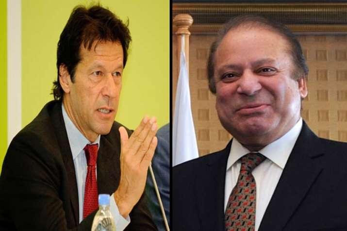 Nawaz Sharif and Imran khan- India TV