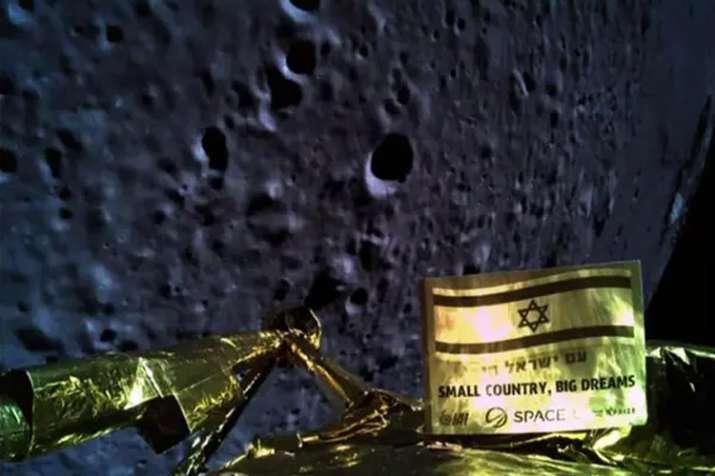 चांद पर पहुंचने के प्रयास में इज़राइल का अंतरिक्ष यान दुर्घटनाग्रस्त- India TV Hindi