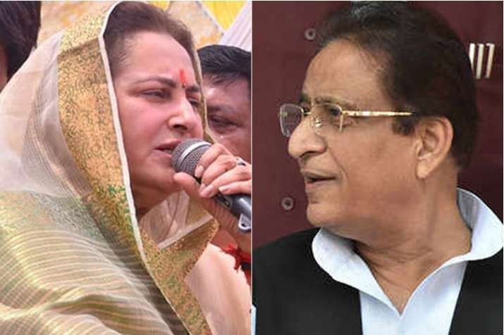 Jaya Prada and Azam Khan | File- India TV